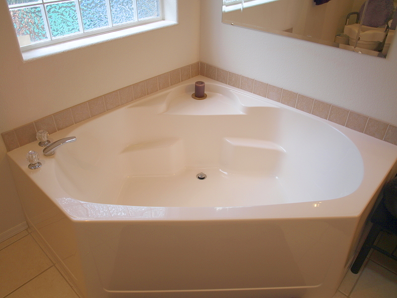 Garden tub to soak in Garden tube